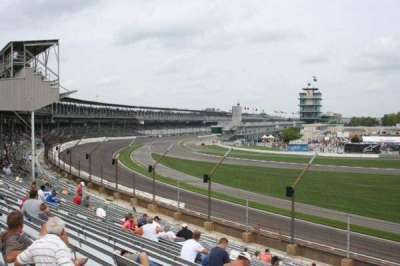 Indianapolis Motor Speedway, section: E stand Box 32, row: Q, seat: 8