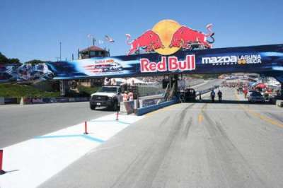 Mazda Raceway Laguna Seca, section: Turn 1
