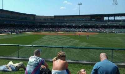 Victory Field, section: Left Field Lawn