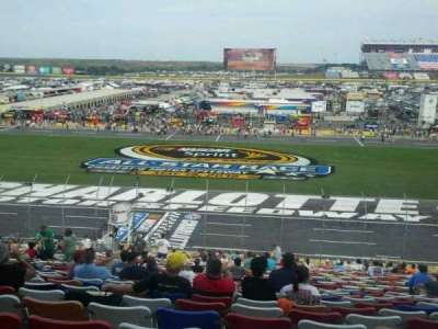 Charlotte Motor Speedway section General motors E