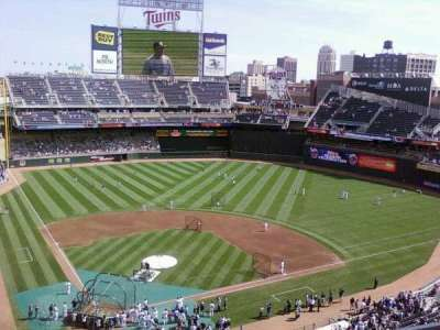 Target Field, section: 218