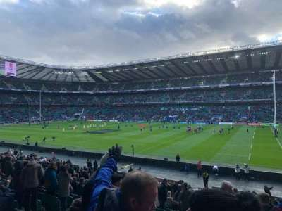 Twickenham Stadium section L22