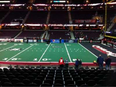Quicken Loans Arena, section: 110, row: 14, seat: 10