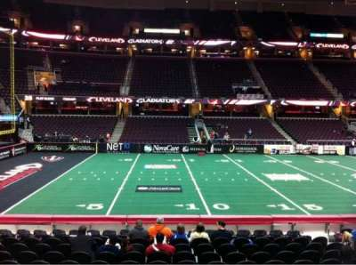Quicken Loans Arena, section: 107, row: 14, seat: 10