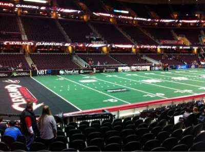 Quicken Loans Arena, section: 106, row: 14, seat: 10