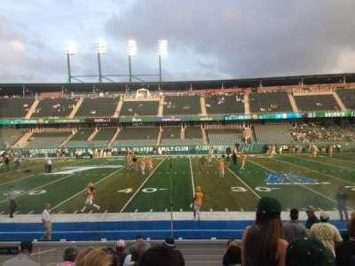 Yulman Stadium, section: 122, row: N, seat: 26