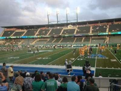 Yulman Stadium, section: 123, row: N, seat: 4