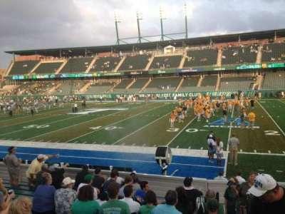 Yulman Stadium, section: 122, row: N, seat: 4
