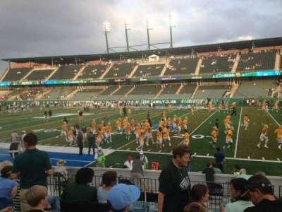 Yulman Stadium, section: 123, row: O, seat: 24