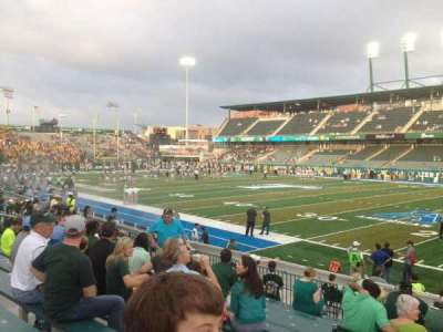 Yulman Stadium, section: 123, row: P, seat: 12