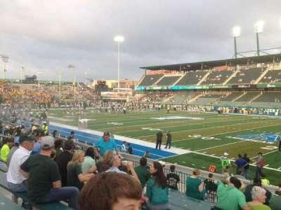 Yulman Stadium, section: 123, row: P, seat: 12