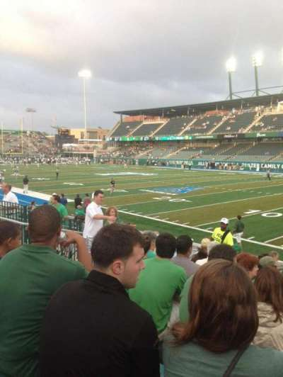 Yulman Stadium, section: 124, row: N, seat: 12