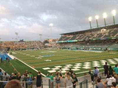 Yulman Stadium, section: 126, row: Q, seat: 15