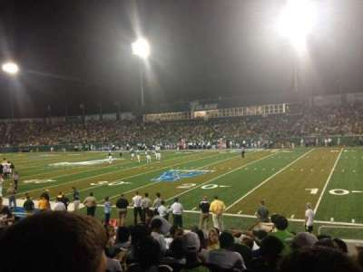 Yulman Stadium, section: 109, row: K, seat: 4