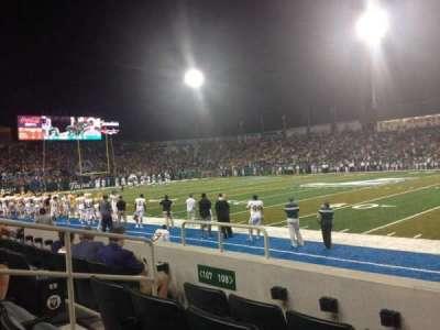 Yulman Stadium, section: 108, row: D, seat: 9