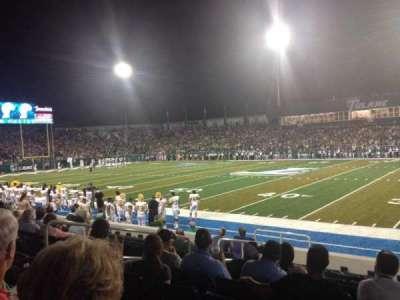 Yulman Stadium, section: 108, row: J, seat: 12