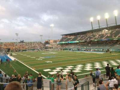 Yulman Stadium, section: 126, row: Q, seat: 15