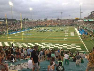 Yulman Stadium, section: 130, row: FF, seat: 14
