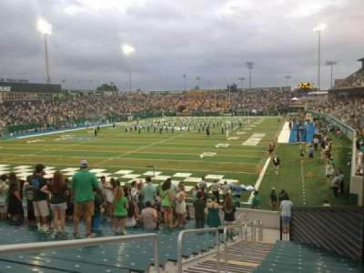 Yulman Stadium, section: 131, row: X, seat: 3