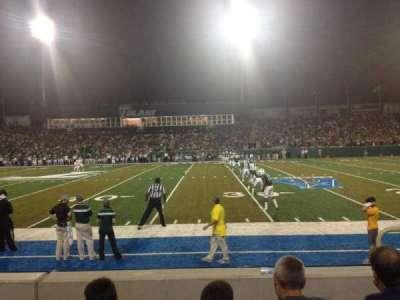 Yulman Stadium, section: 107, row: D, seat: 3