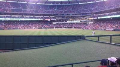 Angel Stadium section 257