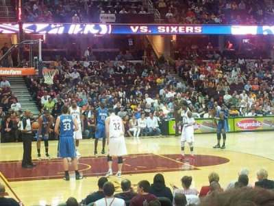 Quicken Loans Arena section 107
