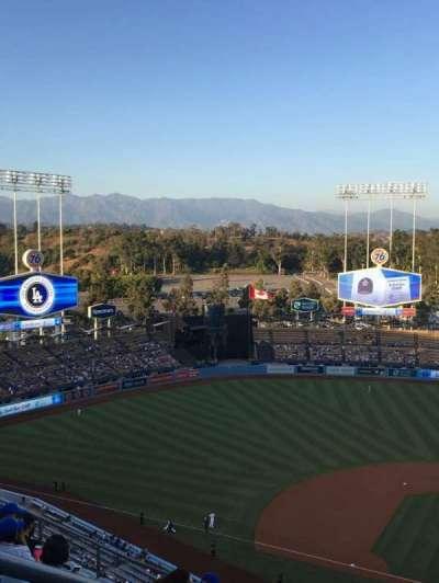 Dodger Stadium, section: 11TD, row: K, seat: 20
