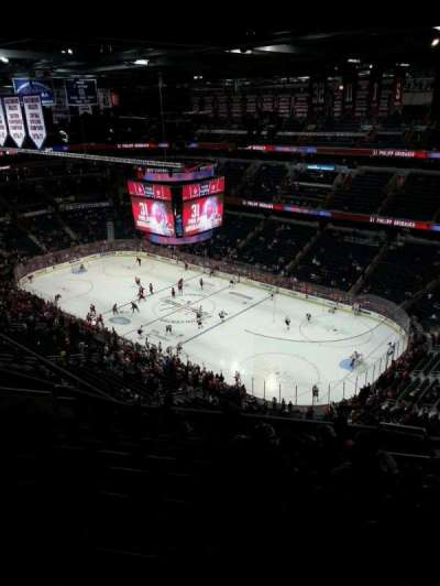 Verizon Center, section: 404, row: P, seat: 16
