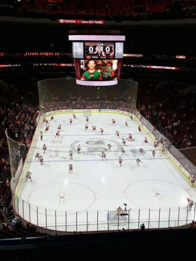 Wells Fargo Center, section: 207, row: 7, seat: 6
