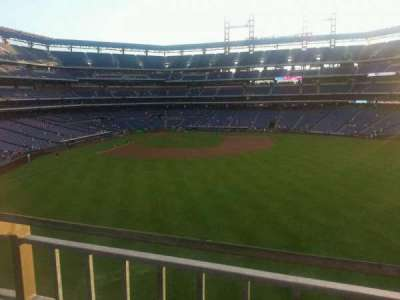 Citizens Bank Park, section: 201, row: 1, seat: 24