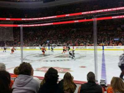 Wells Fargo Center, section: 114, row: 4, seat: 6