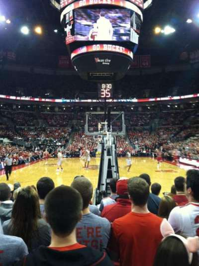 Value City Arena, section: 114, row: JJ, seat: 14