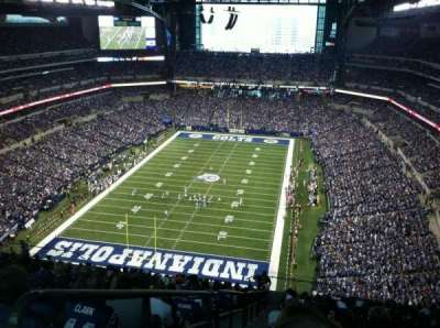 Lucas Oil Stadium, section: 624, row: 23, seat: 23