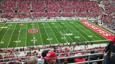 Ohio Stadium, section: 21C, row: 10, seat: 5