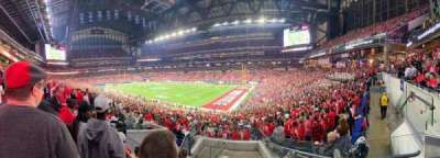 Lucas Oil Stadium, section: 208, row: 7, seat: 3