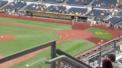 PNC Park, section: 330, row: K, seat: 6
