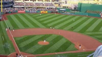 PNC Park, section: 313, row: J, seat: 4