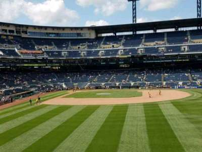PNC Park, section: 143, row: D, seat: 5