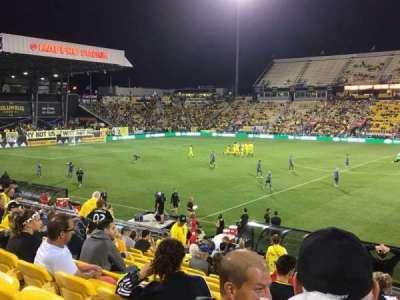 Historic Crew Stadium, section: 126, row: 22, seat: 1
