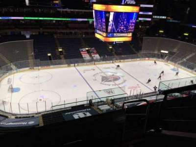 Nationwide Arena, section: 205, row: E, seat: 1