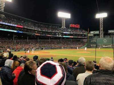 Fenway Park section Field Box 27