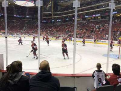 Gila River Arena, section: 119, row: D, seat: 3