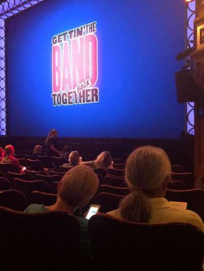 Belasco Theatre, section: Orch, row: K, seat: 20