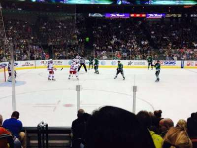 American Airlines Center, section: 120, row: H, seat: 18