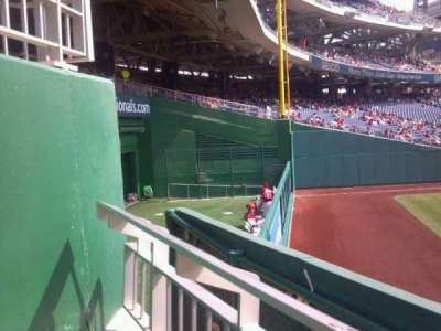 Nationals park, section: 140, row: A, seat: 21