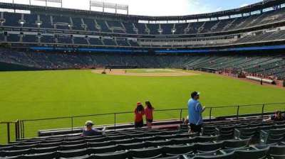 Globe Life Park in Arlington, section: 3, row: 11, seat: 5