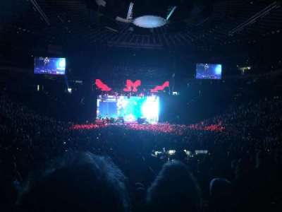 Oracle Arena, section: 108, row: 10, seat: 11, 12