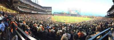AT&T Park section 113
