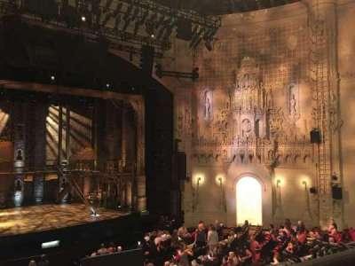 Orpheum Theatre (San Francisco) section Loge LC