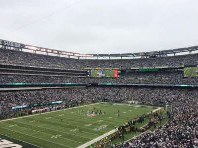 MetLife Stadium section 245A